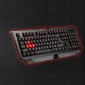 Bloody gaming keyboard, black color, USB, US layout
