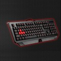 Bloody gaming keyboard, black color, USB, US layout