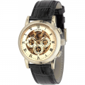 Rotary Vintage Skeleton Automatic Watch